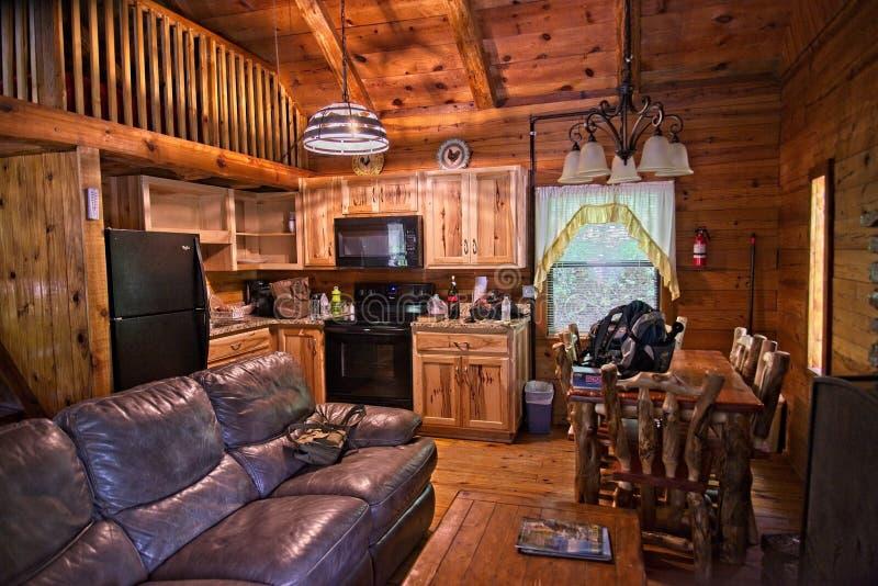 Uthyrnings- kabiner för Ponca Arkansas journal arkivfoto