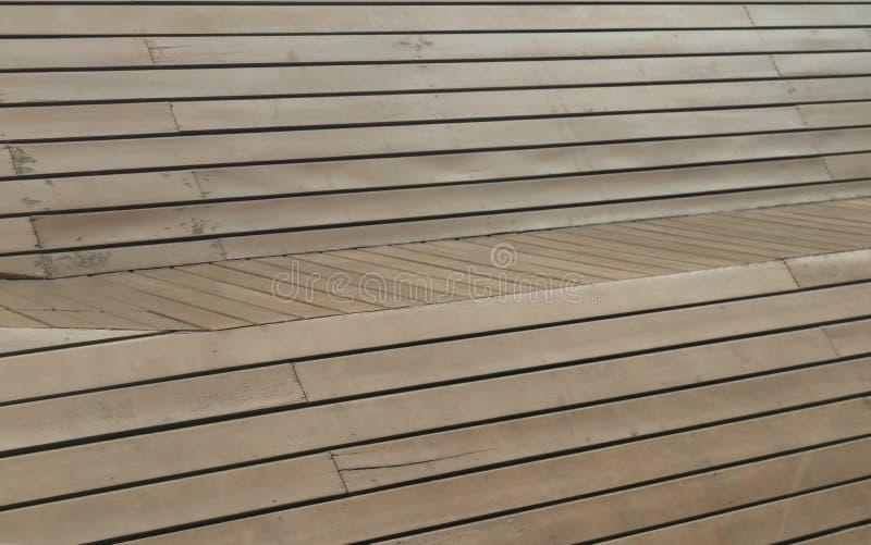 Utilisation en bois de panneau de Brown comme fond ou papier peint photo libre de droits