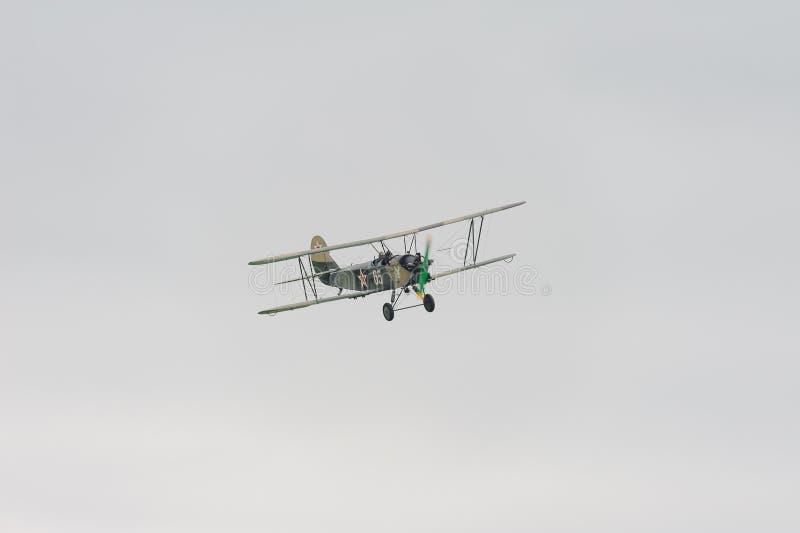 Utility biplane Polikarpov Po-2. World War II aircraft stock photography