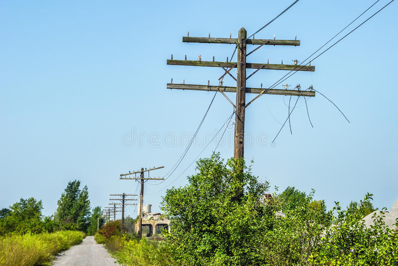 Download Utility Poles stock photo. Image of transmission, electricity - 24984686