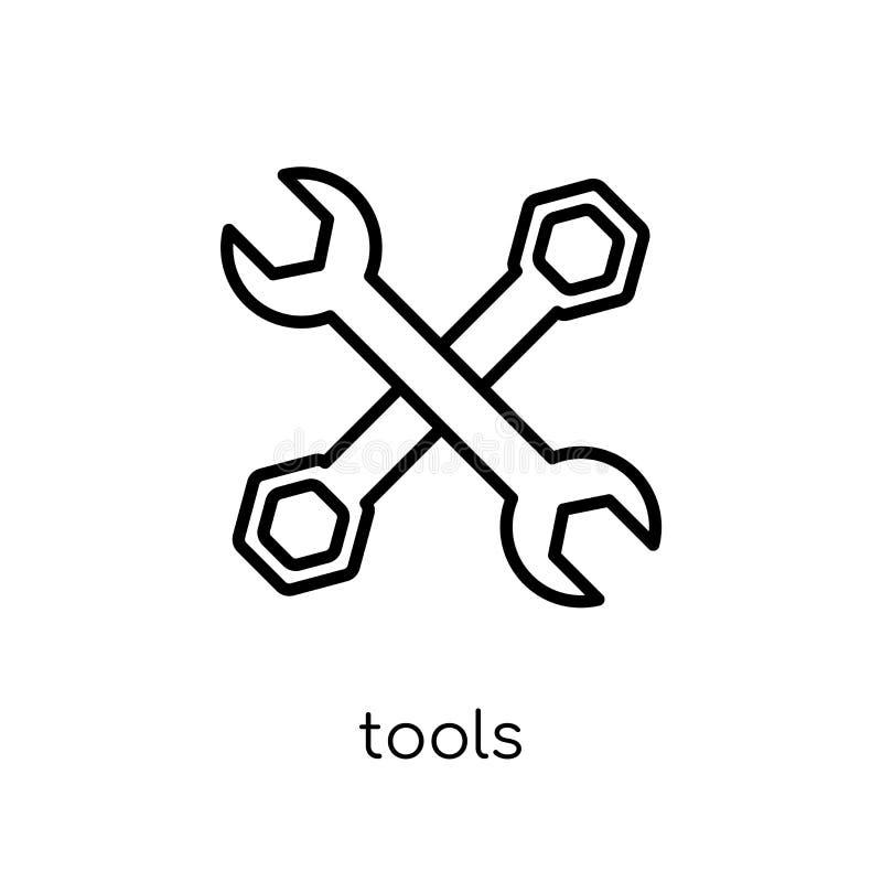 Utiliza ferramentas o ícone  ilustração do vetor