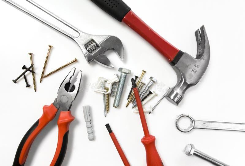 Utiliza ferramentas a série imagens de stock
