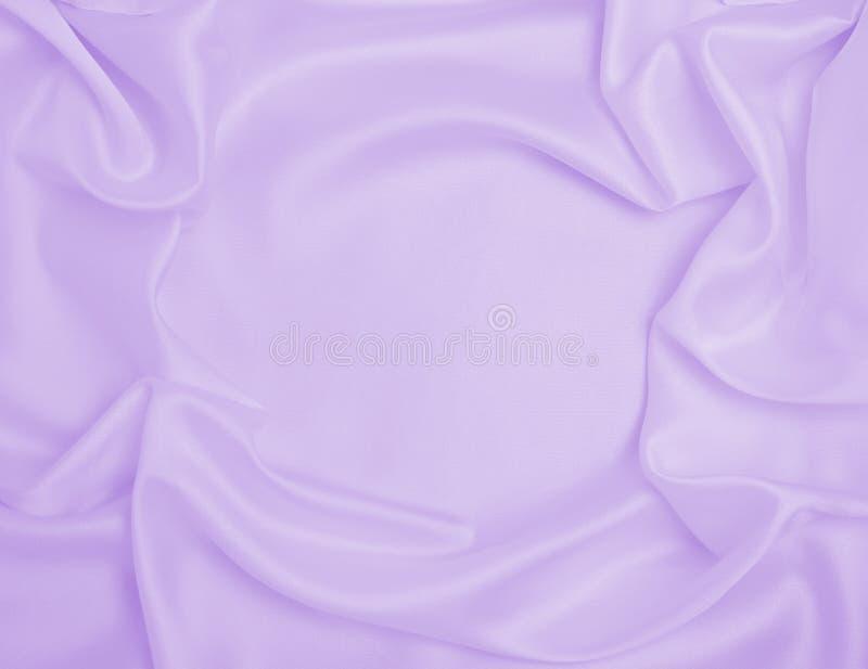 Utjämnad elegant silke eller sattextur som bröllopsbakgrund Luxurig bakgrundsdesign arkivfoton