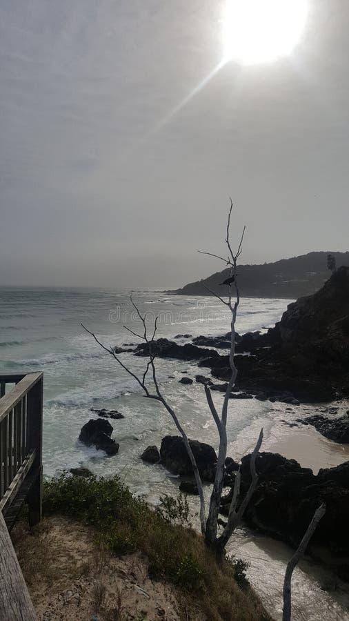 Utkik på Byron Bay royaltyfria bilder