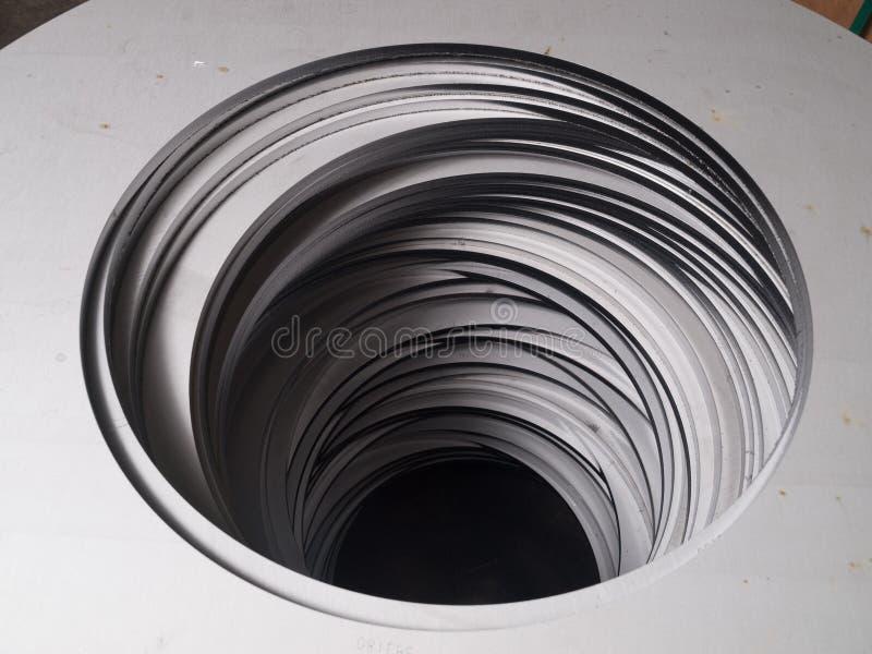 Utklipp för form för cirkel för rostfritt stållaser-utklipp futuristiska royaltyfri foto