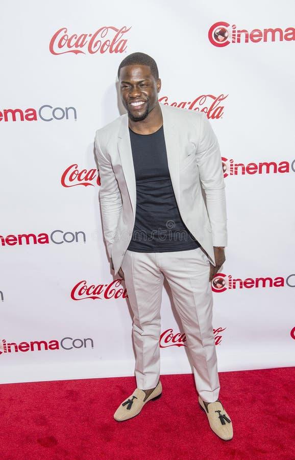Utmärkelser för CinemaCon 2015 - 2015 stora skärmprestation royaltyfria foton