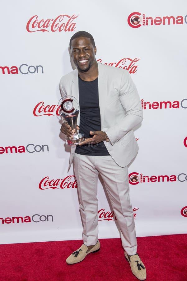 Utmärkelser för CinemaCon 2015 - 2015 stora skärmprestation royaltyfri bild