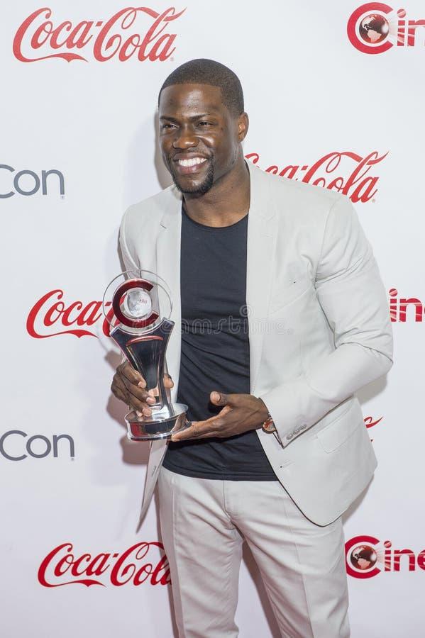 Utmärkelser för CinemaCon 2015 - 2015 stora skärmprestation arkivfoto