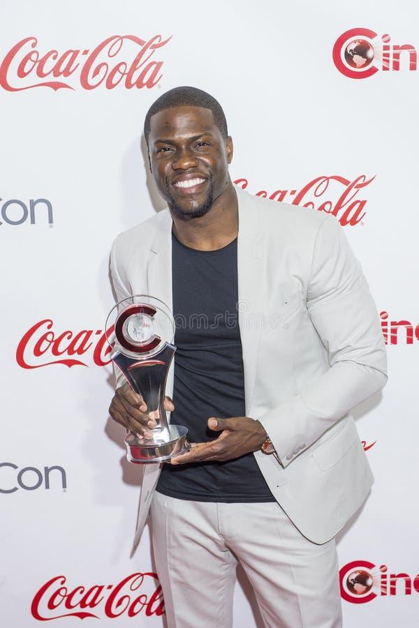 Utmärkelser för CinemaCon 2015 - 2015 stora skärmprestation royaltyfri foto