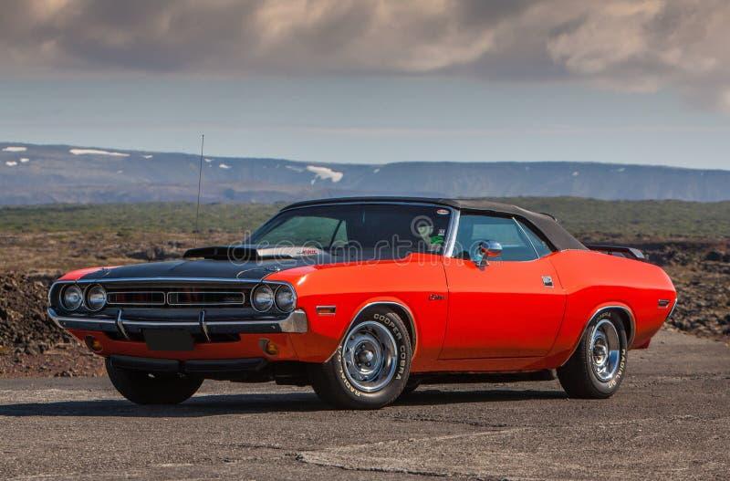 Utmanare R/T för 1970 Dodge arkivfoto