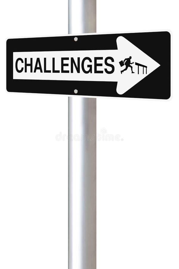 Utmaningar hitåt arkivbilder