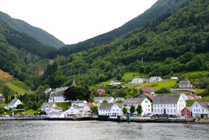 Utne στη Νορβηγία στοκ εικόνα