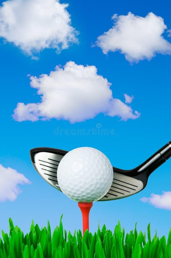 utomhus- golf royaltyfri foto