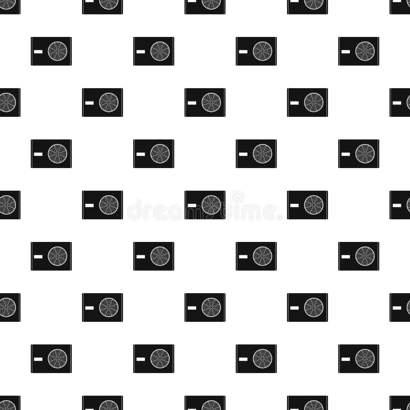 Utomhus- kompressor av luftkonditioneringsapparatmodellen royaltyfri illustrationer