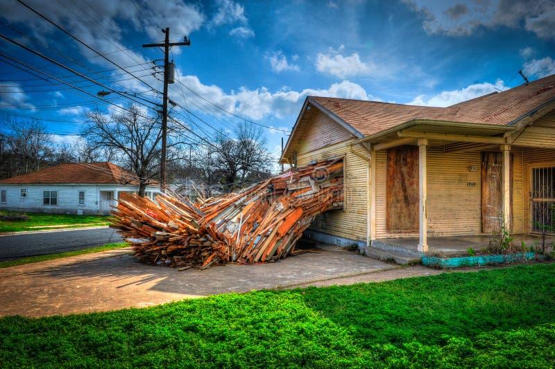 Utomhus- konst, Austin, Texas royaltyfri bild