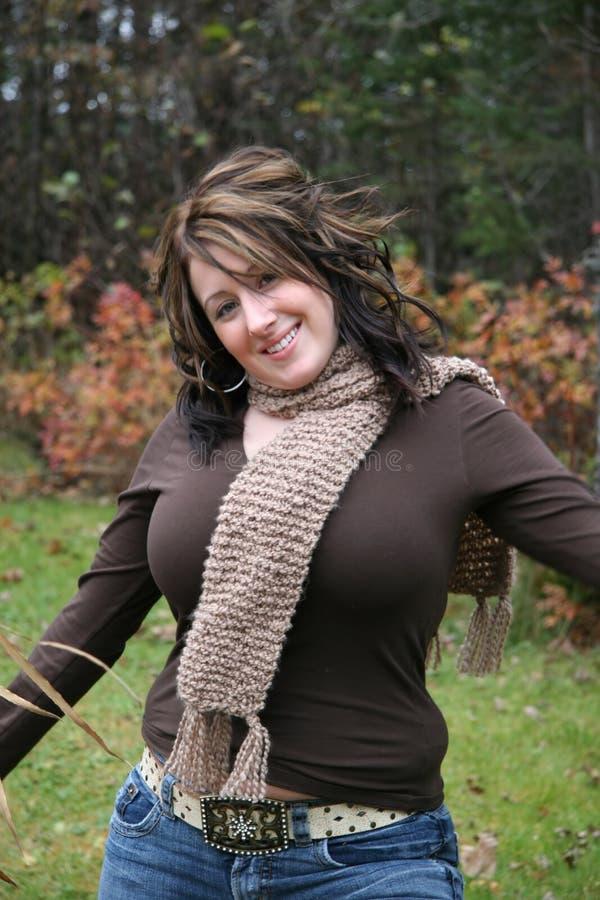 utomhus kvinna fotografering för bildbyråer