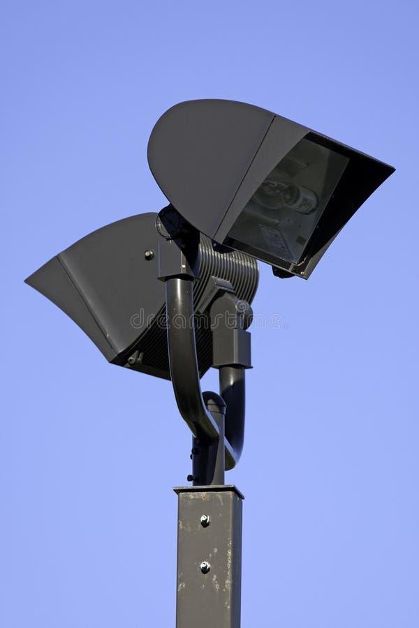 Utomhus- lighting arkivbild
