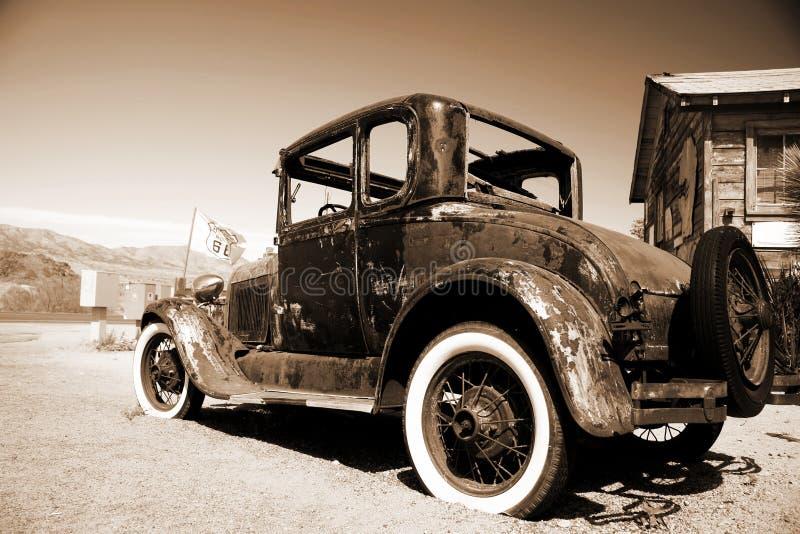 utomhus retro bil fotografering för bildbyråer