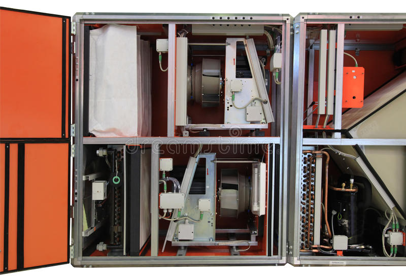 Klimatutrustning royaltyfria foton