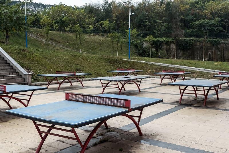 Utomhus- tennisbanor fotografering för bildbyråer