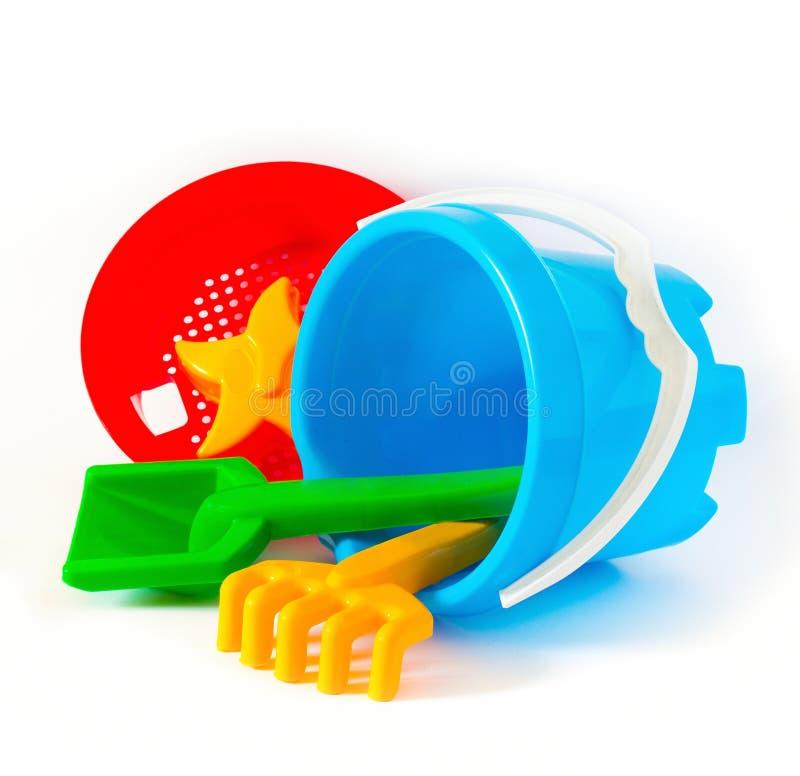 utomhus- toys för barn royaltyfri bild