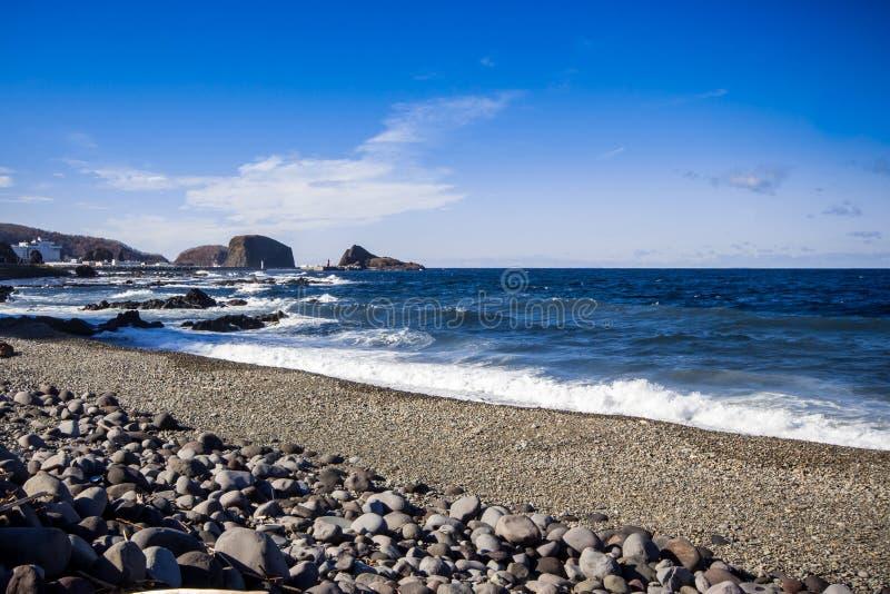Utorohaven van Hokkaido in Japan stock afbeelding