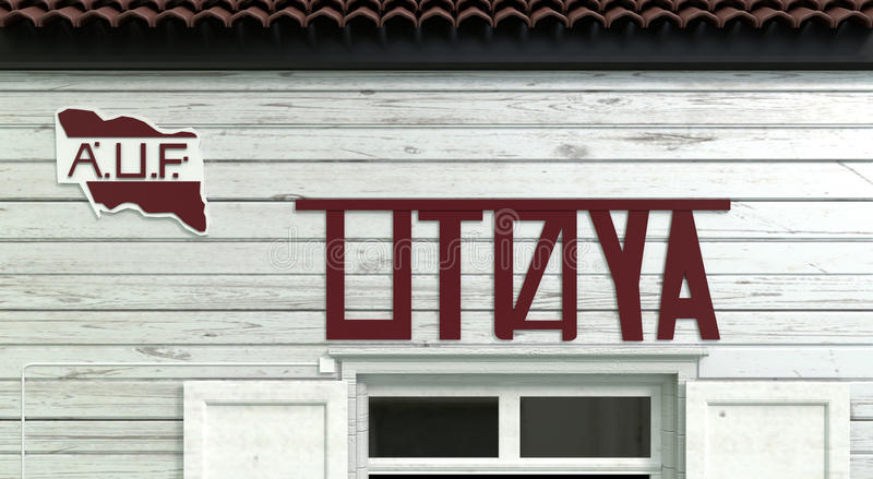 Utoya stock illustratie