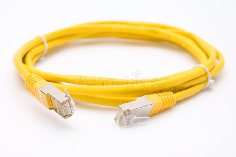 UTP/FTP kabel fotografia stock