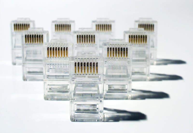 UTP network army stock image