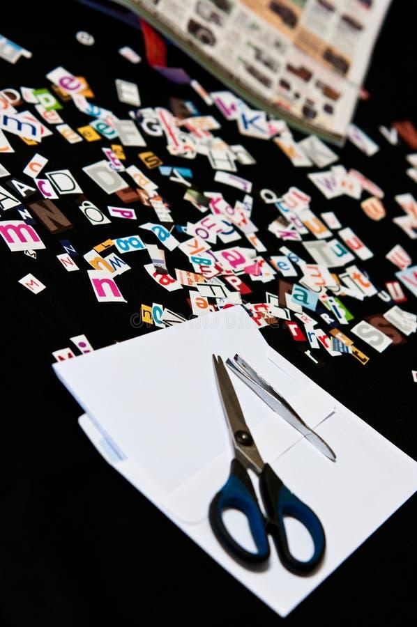 utpressning arkivfoton