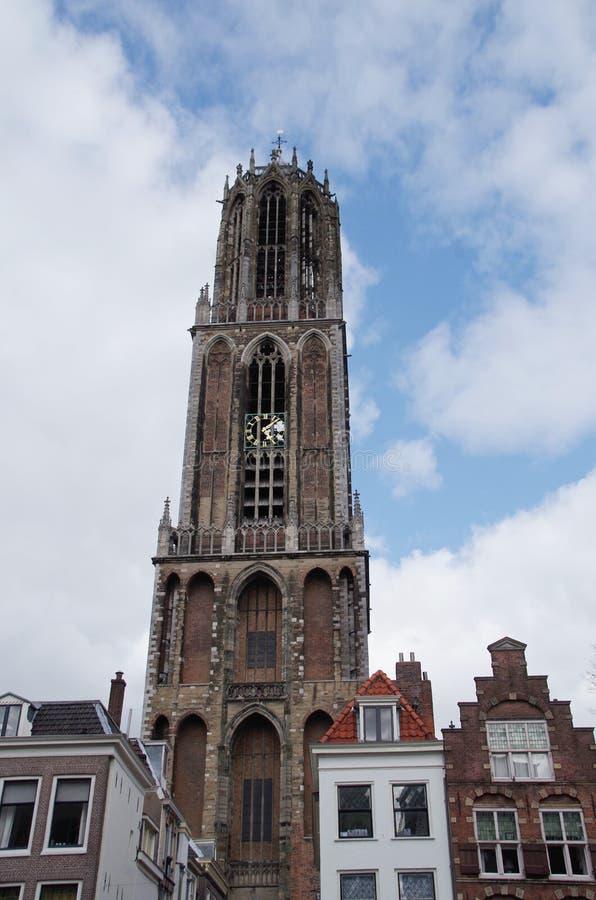 Utrecht Dom Tower imagen de archivo libre de regalías