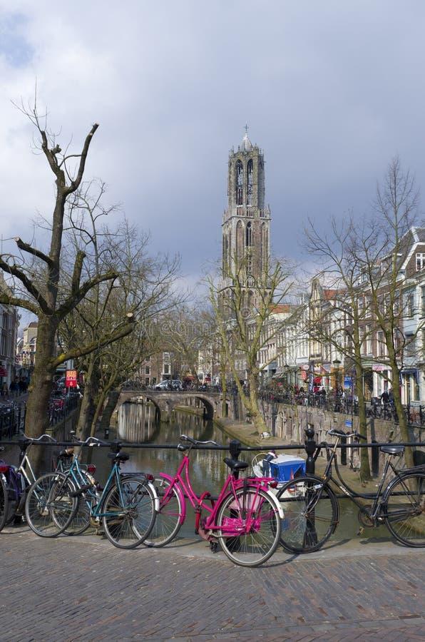 Utrecht Nederländerna royaltyfri bild