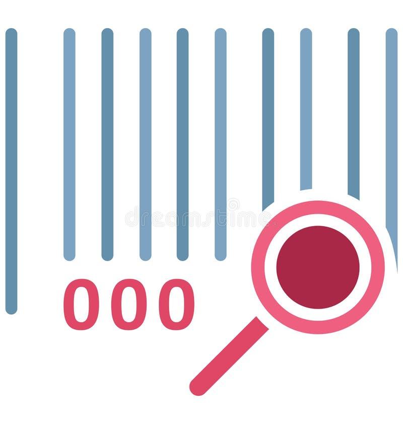 Utredning isolerade vektorsymbolen som kan lätt ändra eller redigera stock illustrationer