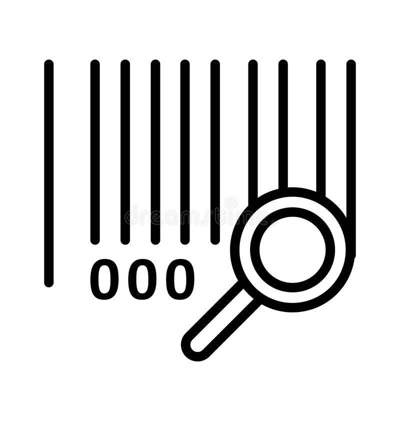 Utredning isolerade vektorsymbolen som kan lätt ändra eller redigera vektor illustrationer