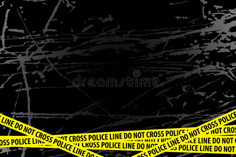 utredningpolis vektor illustrationer