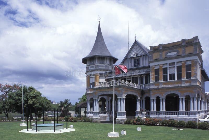 Utrikesdepartementet Trinidad och Tobago arkivbilder