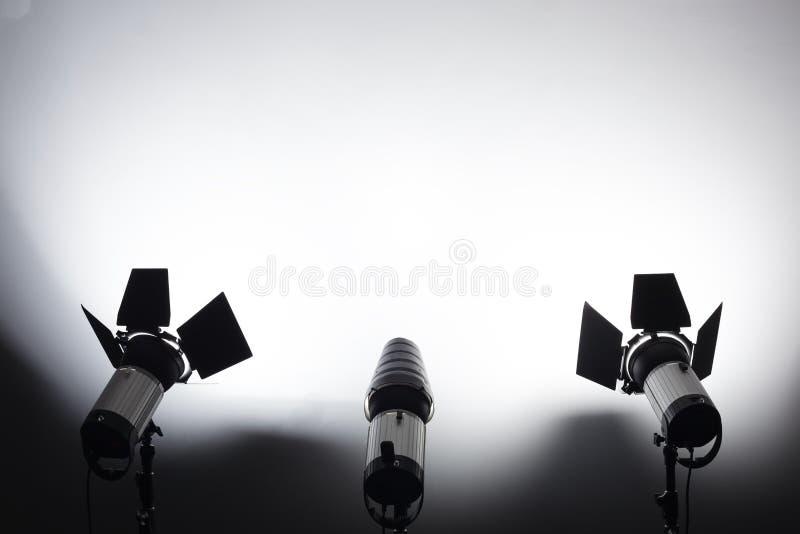 Utrustning för fotostudior och modefotografi arkivfoton