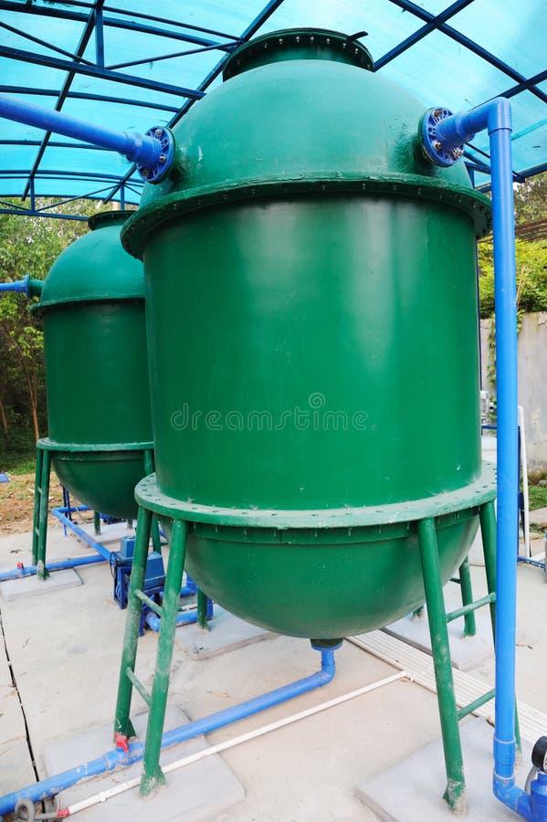 utrustningbehandlingvatten arkivbilder