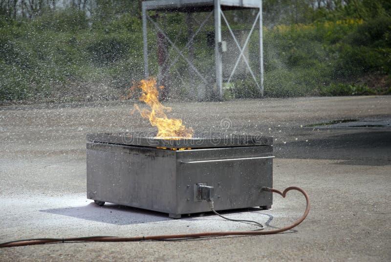 utrustningbrandsäkerhet arkivbild