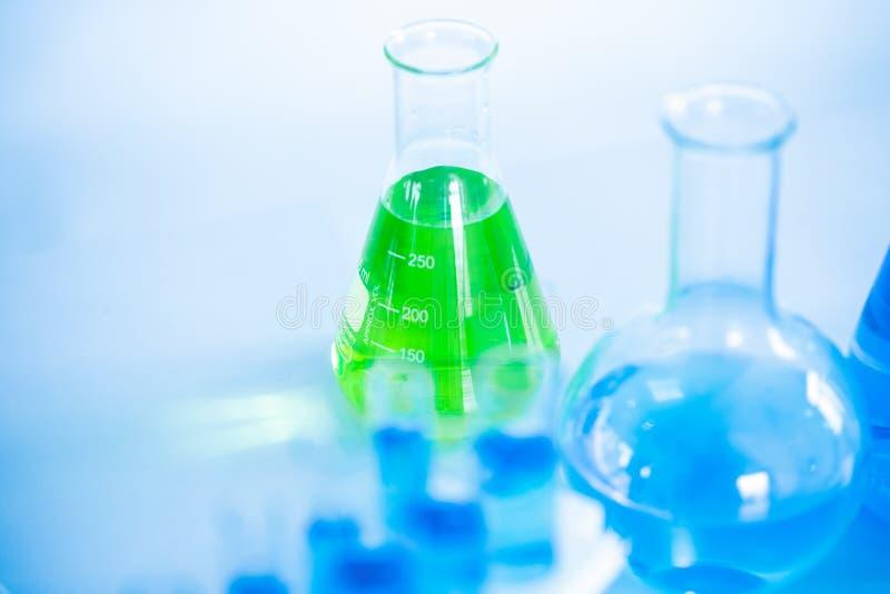 Utrymme för hjälpmedel för labb för medicinsk vetenskap för laboratoriumforskningkemikalie för bakgrund fotografering för bildbyråer