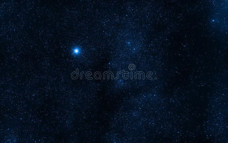 Utrymmebakgrundsstjärnor royaltyfri bild