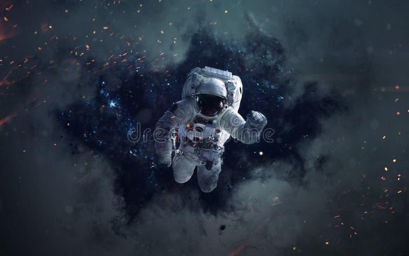 Utrymmesciencebild Beståndsdelar för denna bild som möbleras av NASA royaltyfri foto