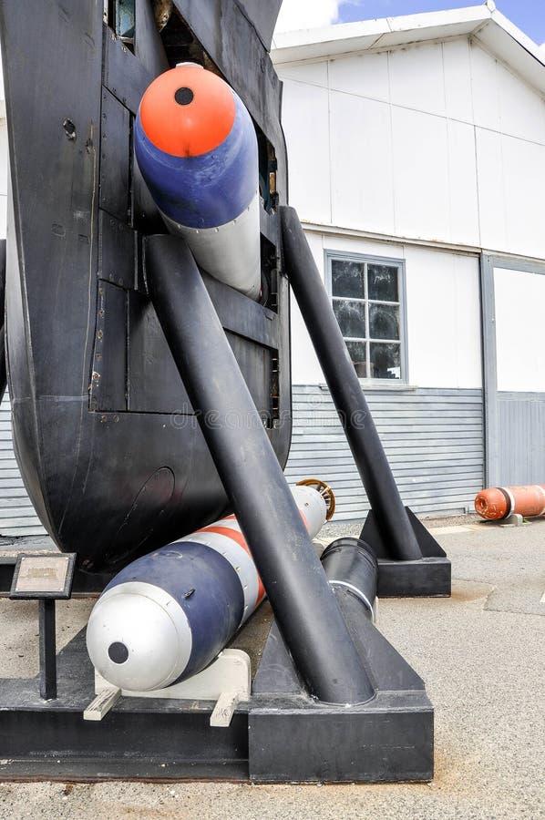 Utrzymany Podwodny łęku szczegół: Petardy fotografia royalty free