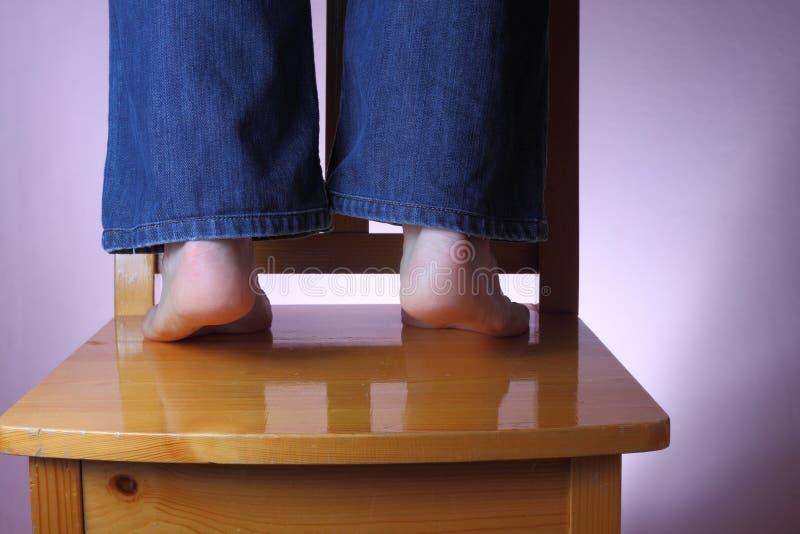 Utrzymuje Palec U Nogi Twój Obrazy Stock