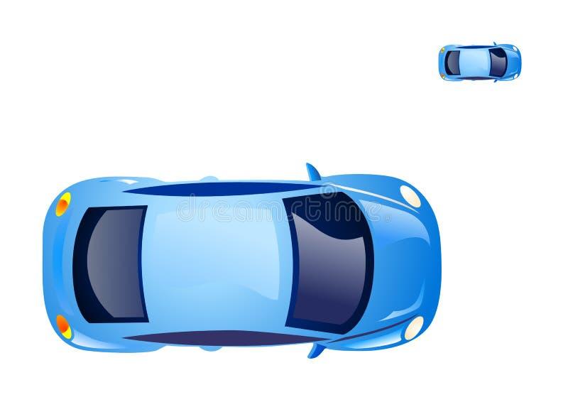 utskjutande bilsymbol vektor illustrationer
