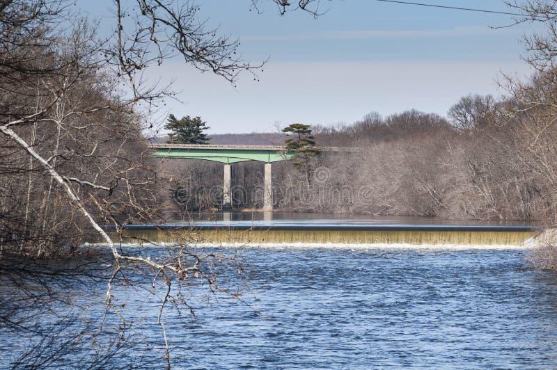 UtskovBlackstone flod fotografering för bildbyråer