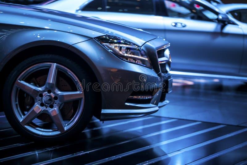 Utsmyckad bil fotografering för bildbyråer