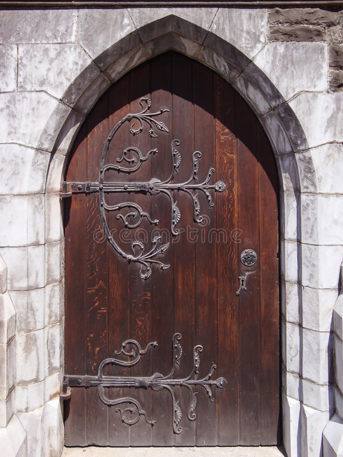 utsmyckad dörr royaltyfri foto