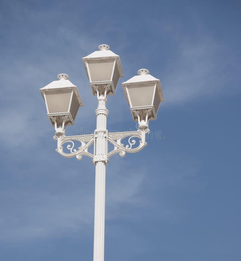 Utsmyckad lamppost arkivfoto