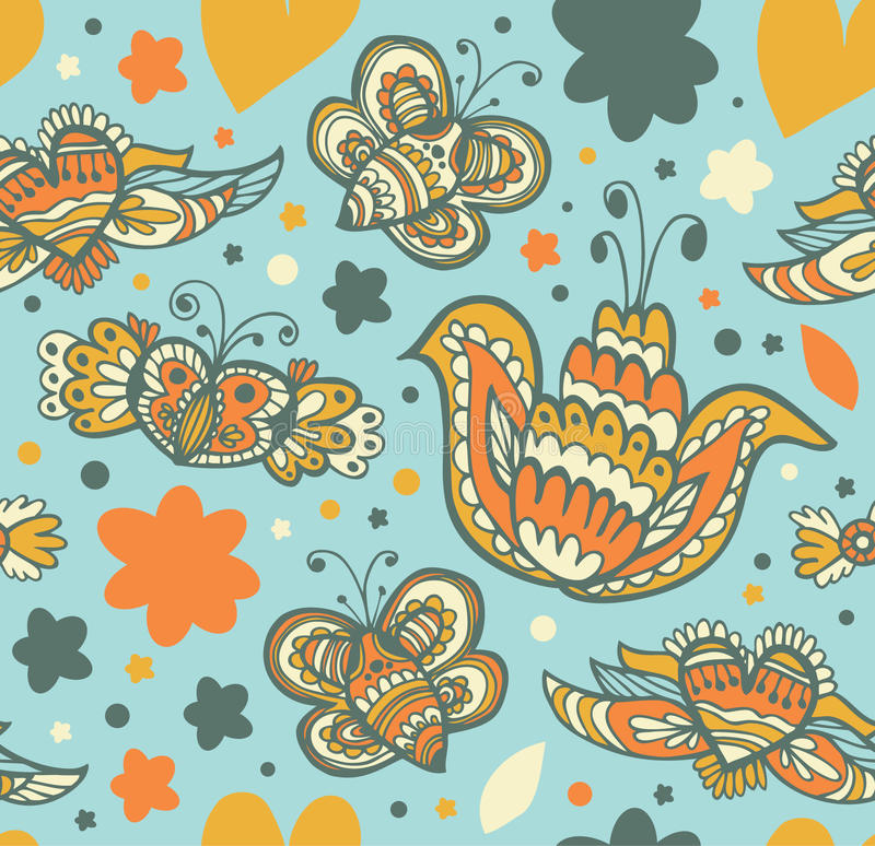 Utsmyckad textur för tyg royaltyfri illustrationer